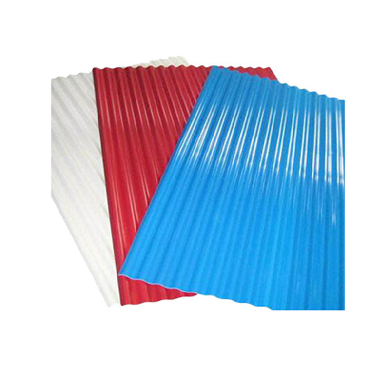 Wholesal Wave Color Coated Zincalume Roofing Sheet