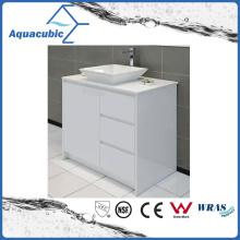 Modren Floor Mount Bathroom Cabinet Vanity (ACF8892)