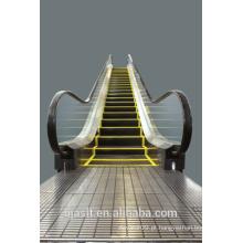 Escada rolante de transporte público pesado ao ar livre