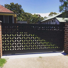 Decorative Metal Screen Door Panels