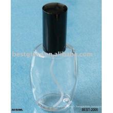Flacon en verre de parfum de 30ml / 50ml