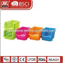 Komplette Kunststoffwerkzeug Box PP Multi-Funktions-Boxen Material Werkzeugkästen