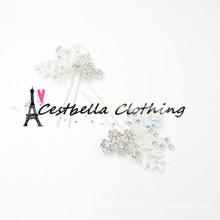 Neue Art und Weise hochwertiger heißer Verkauf Großhändler bling glänzende schöne preiswerte Brauthaarzusätze