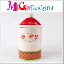 Hot Sale Product Ceramic Storege Jar with Lid