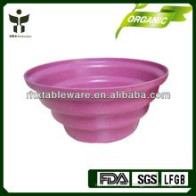 Planta de flores biodegradável natural / plantador de fibras de plantas indoor / outdoor