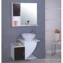 Cabinet moderne de salle de bains en bois (B-103)