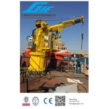 Grue marine hydraulique vendue à Dubaï