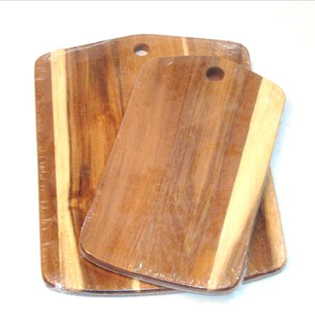 acacia wood cutting set