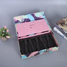 Caixa de papel cosmética para embalagem de frasco de perfume
