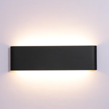 7W Rectangle indoor wall lights up and down