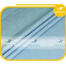 Tissu bleu ciel tissu africain vêtement guinée brocart tissu 100% coton