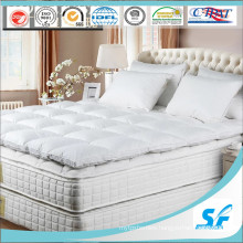 10% Goose Down &Feather Bed Mattress Topper with Elastic