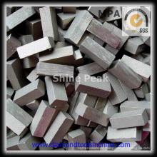 Bestes Leistungs-Diamant-Sägeblattsegment zum Schneiden von Basalt