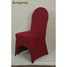 dining chair cover,lycra chair cover fit all banquet chairs,high quality,burgandy