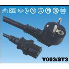 European AC Power Plug