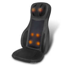 Luxury Electric Swing and Kneading Body Care Shiatsu Back Massage Cushion with Neck Roller Height Regulation