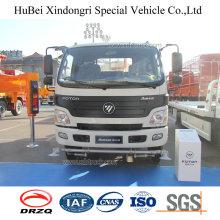 8cbm 8ton Foton Euro 5 Water Transport Sprinkler Truck with Cummins Engine
