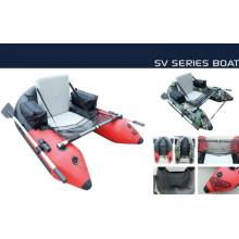 Mais atraente barco com barriga inflável individual de 1,7 m, barco pontão de material de PVC com CE China