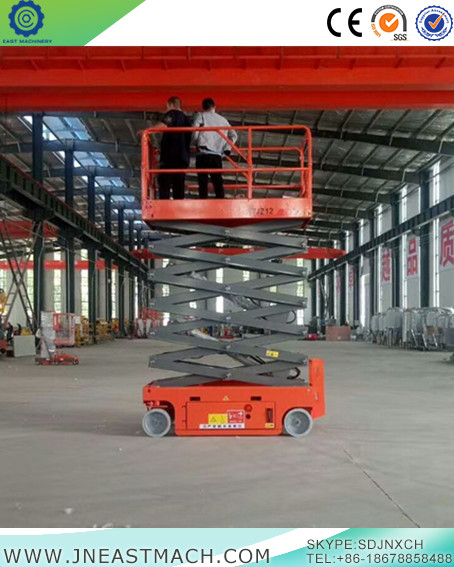 Self Propelled Scissor Lift Platform Auto Forward Backward Scissor Lift