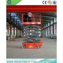 Самоходная воздушная рабочая платформа с питанием от батареи 10 м