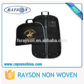 Bolso no tejido de la cubierta del juego del bolso de la suspensión de los hombres modificados para requisitos particulares con cremallera