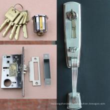 High quality aluminum door mortise lock,commercial glass door lock,door lock cover plate