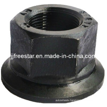 Steel Hexagon Nut with Rotatable Washer
