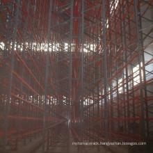 warehouse metal VNA racking system
