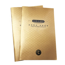 Offset Paper Glossy Laminated Customized Company Brochure Printing
