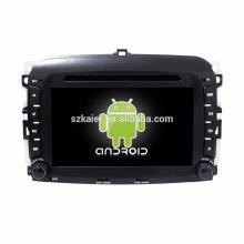 Octa core! Android 7.1 dvd de voiture pour Fiat F500 avec écran capacitif de 7 pouces / GPS / Mirror Link / DVR / TPMS / OBD2 / WIFI / 4G