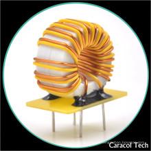 Alambre de cobre T 8X4X3 0.6mm baja resistencia CC bobina variable del inductor de 100uh 3a Toroidal para el cargador de batería