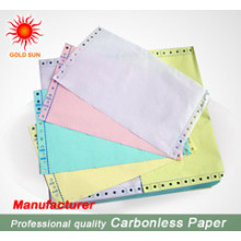 Colourful Super Smoothness Carbonless Paper