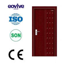 Decoración interior puerta de entrada de madera barato