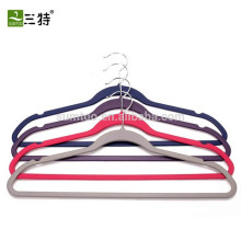 Factory rubber coated multi clothes hangers