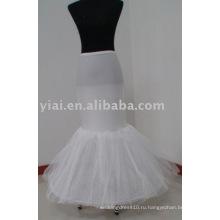 русалка стиль платье Подъюбник P008 для новобрачных