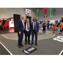 Fournisseur officiel de basket-ball SES FIBA ​​3 × 3