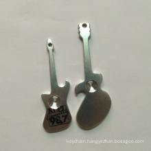 Aluminum Alloy Bottle Opener Key Ring with Colorful Anodized Finish