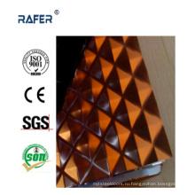 Клетчатый/клетчатый рельефный стальной лист с цветным (РА-C033)