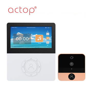4.5 pulgadas con APP Wifi Video Doorbell Camera