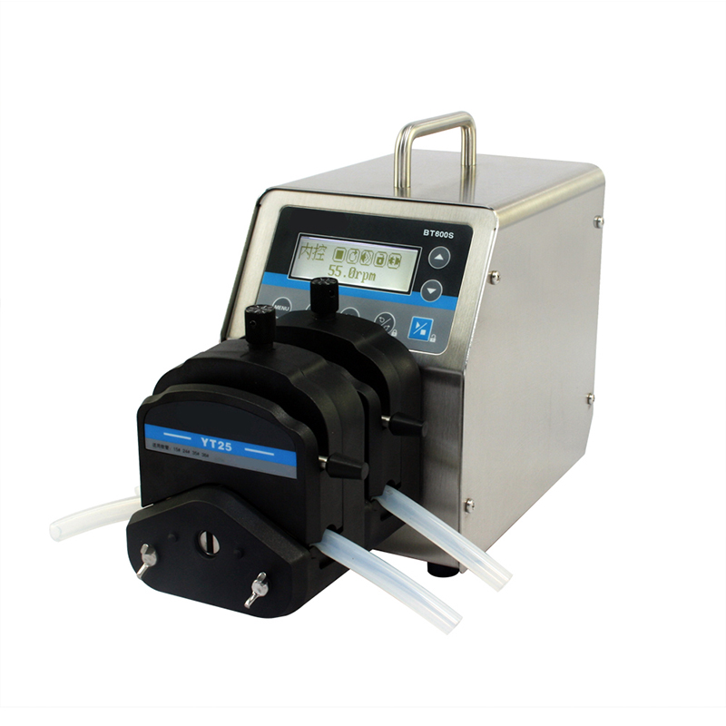 Speed peristaltic pump