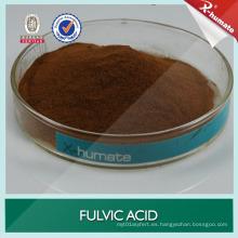 Polvo soluble en agua orgánico de la fuente vegetal Ácido fulvicico del 80%
