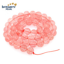 Jewelry Making Bracelet Accessories Natural Quartz Size 6 8 10 12 Watermelon Crystal Beads String