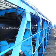 Sistema transportador / Cinta transportadora de tubos / Cinta transportadora de poliéster