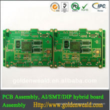 FR4 HASL Print circuit board PCB China supplier a/c control pcb board