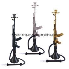 Wholesale 2016 Zinc Alloy Mob Hookah Gun Ak47 Hookah