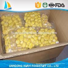 Biscuits aux noix de châtaignes congelées biologiques du fournisseur chinois