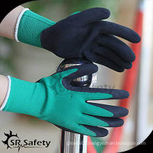 SRSAFETY 13G latex coated glove,industrial hand gloves