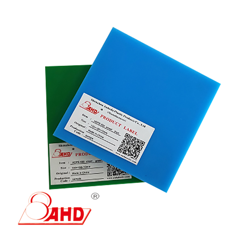 Hdpe500 Sheet Green And Blue