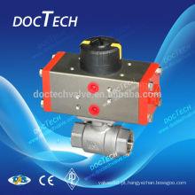 ISO5211 Válvula de esfera de almofada montagem com boa qualidade