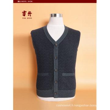 Bn1509 Yak Laine / Cachemire V Cou Cardigan Gilet / Vêtements / Vêtement / Tricots